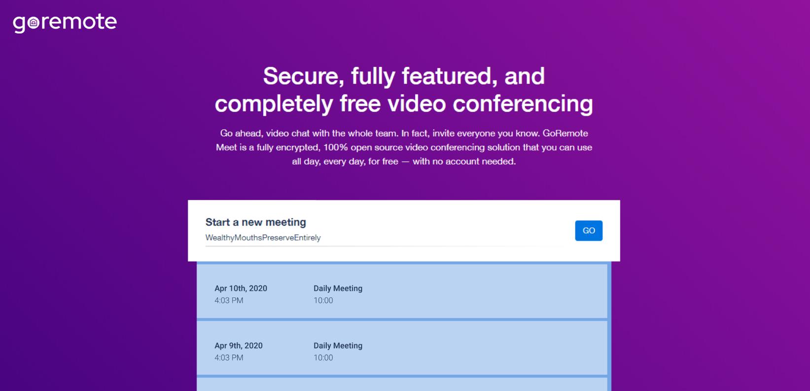 Προσαρμοσμένες διευθύνσεις URL σύσκεψης
